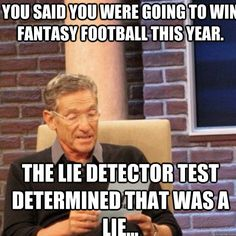 Fantasy Football Lies